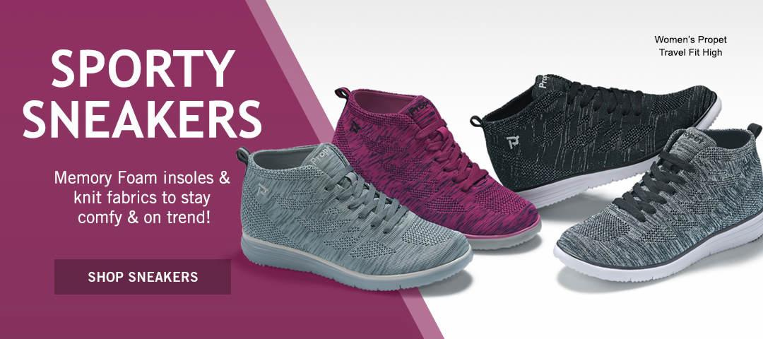 Shop Sporty Sneakers