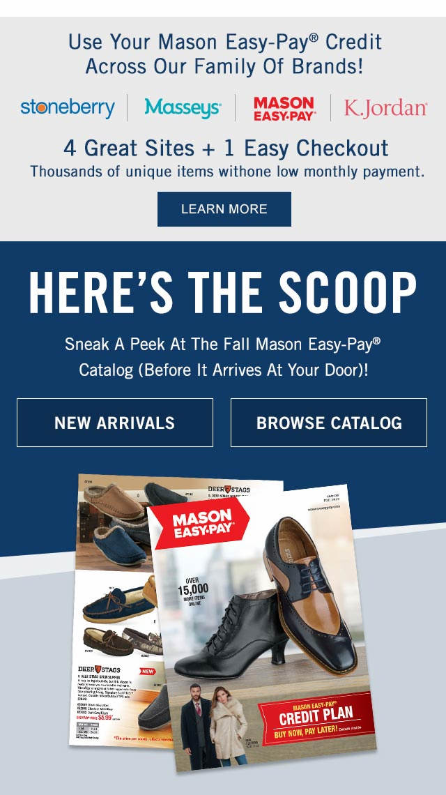 Home Page | Mason Easy-Pay