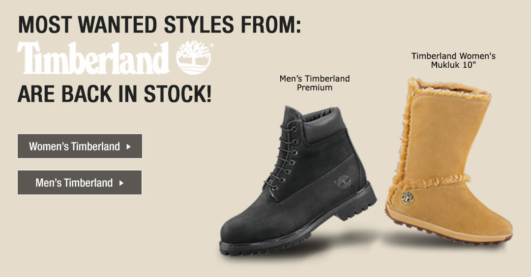 Most Wanted Timberland Styles Are Back In Stock!