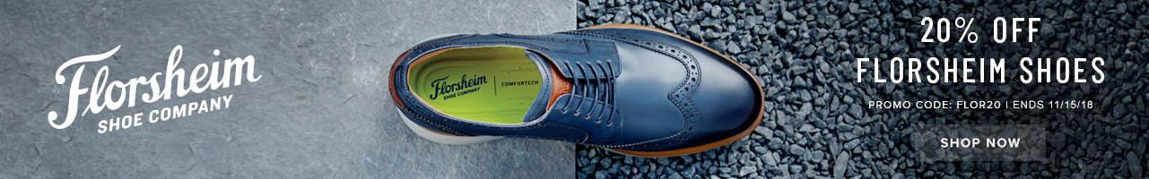 20% Off Florsheim Shoes - Shop Now