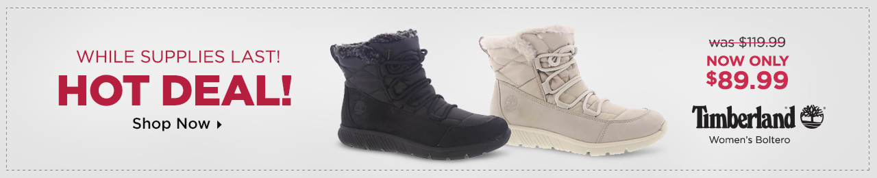 While Supplies Last - Save on the Timberland Boltero Boot!