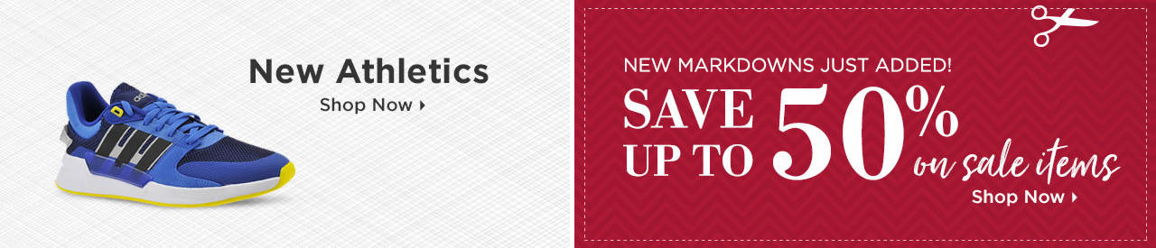 Shop New Athletics and Items on Sale!