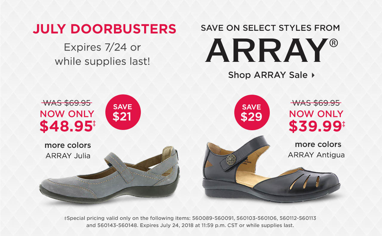 Save On Select Styles From Array Now