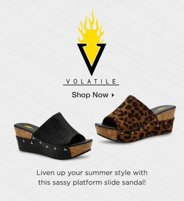 Shop Volatile Sandals