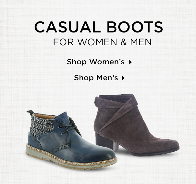 Shop Women's and Men's Casual Boots