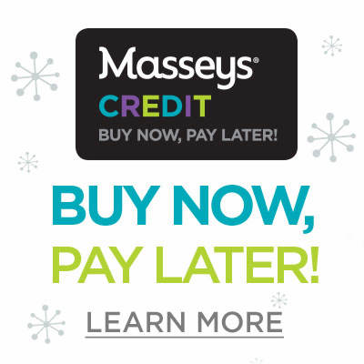 Now Pay Later With Masseys Credit Learn More