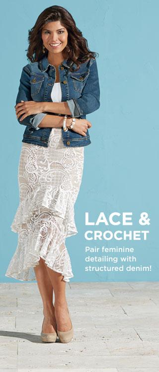 Shop Lace & Crochet