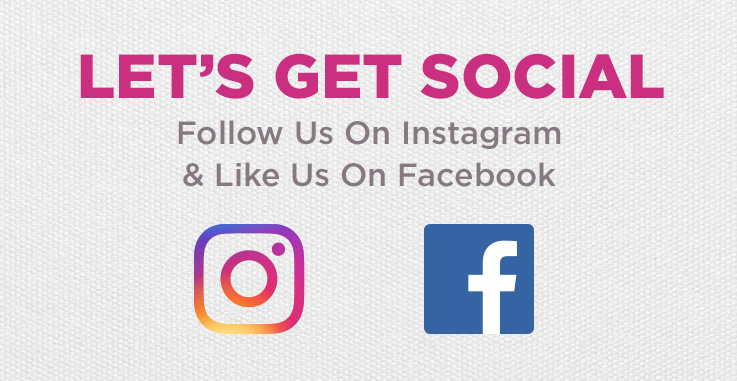 Check Us Out On Instagram and Facebook