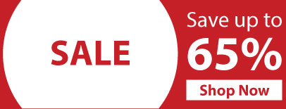 Sale: Save up to 65%