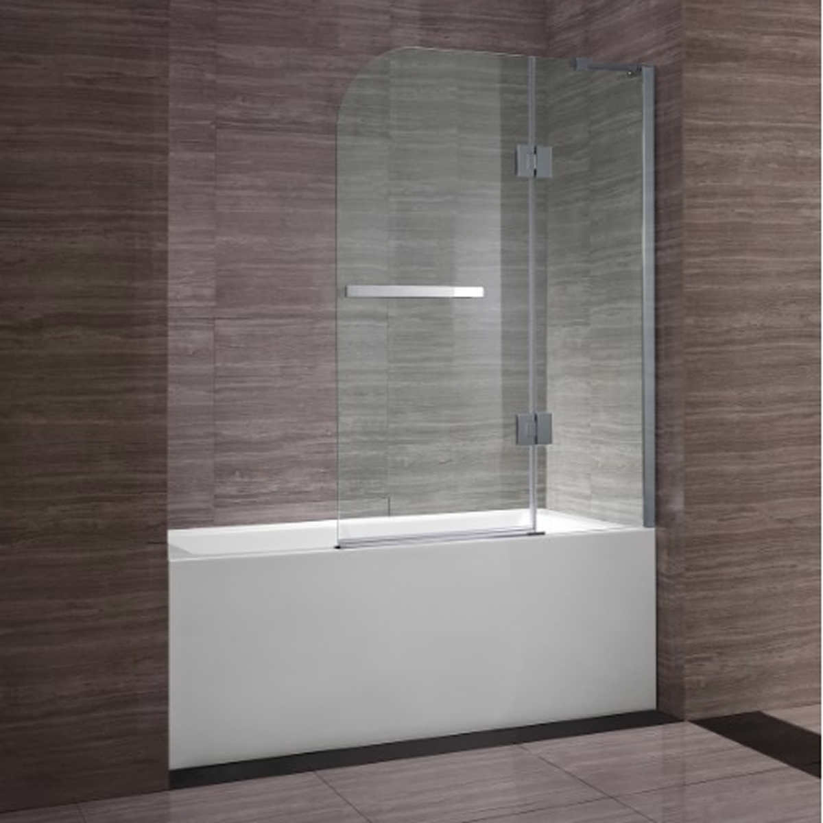 showers costco clark 40 in bath screen