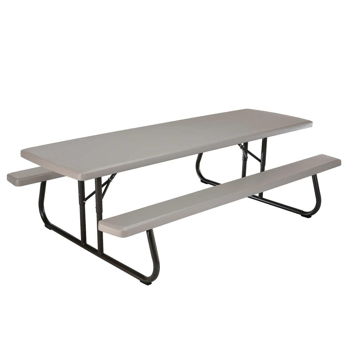Lifetime 8 ft Folding Picnic Table