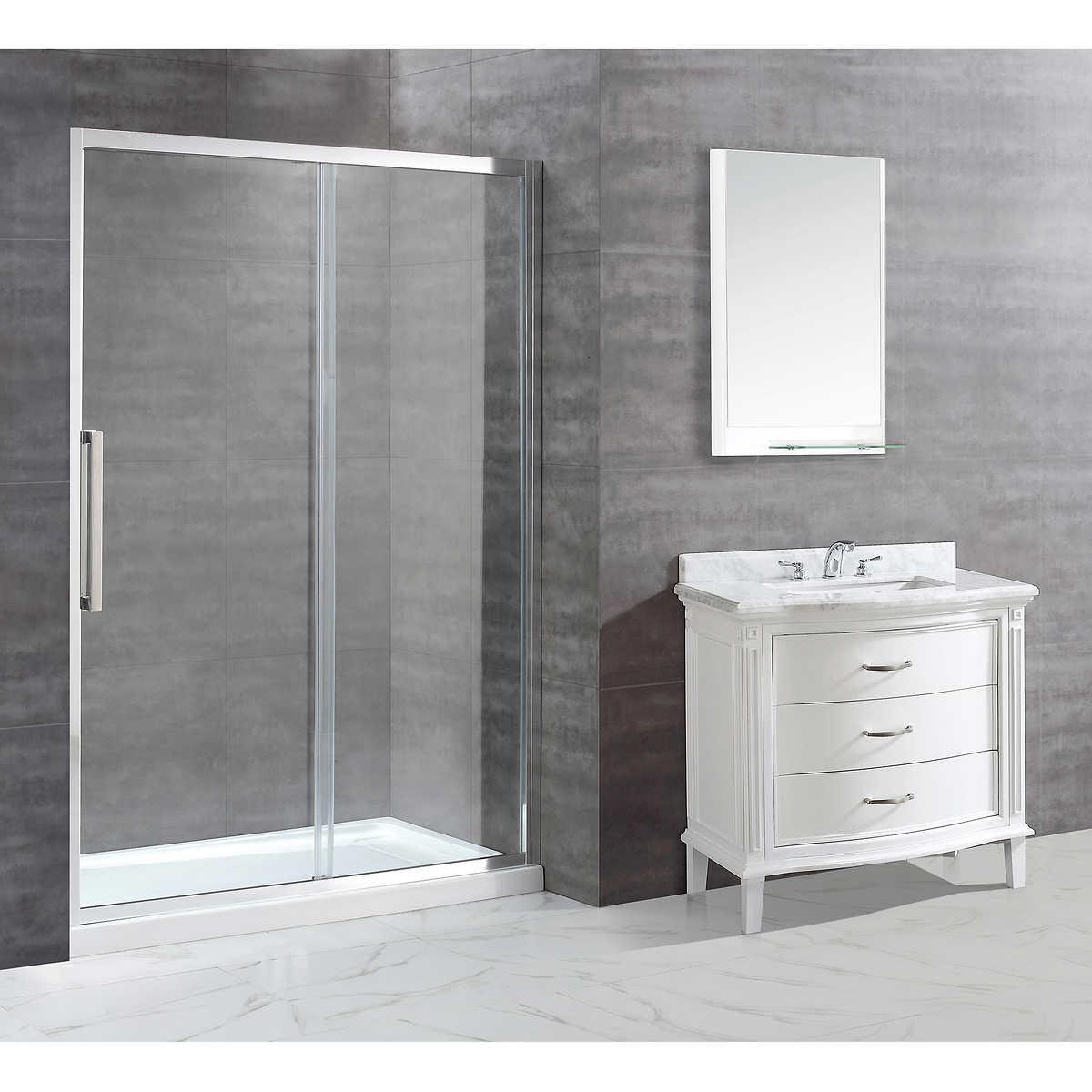 showers costco shower enclosure