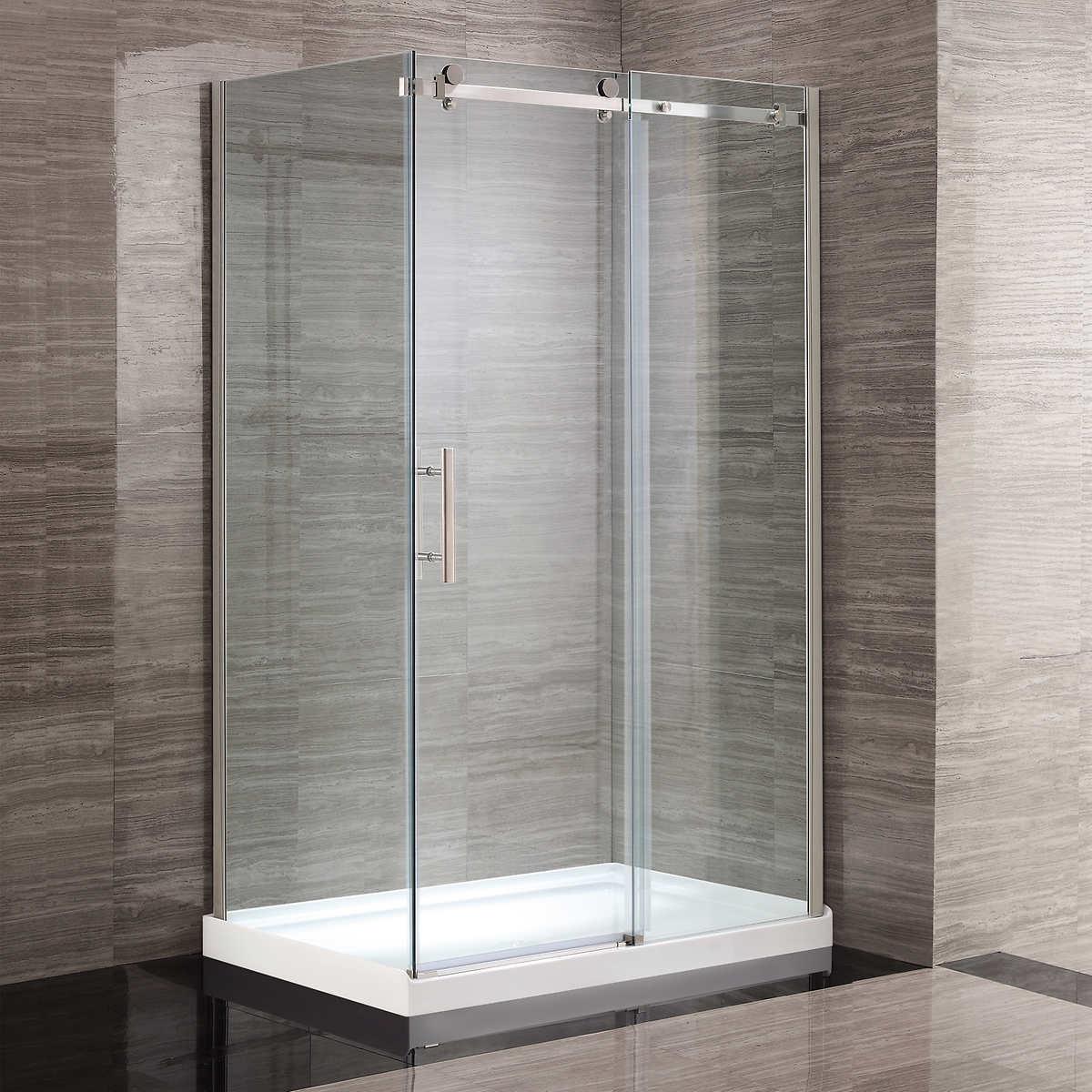 showers costco corner shower kit