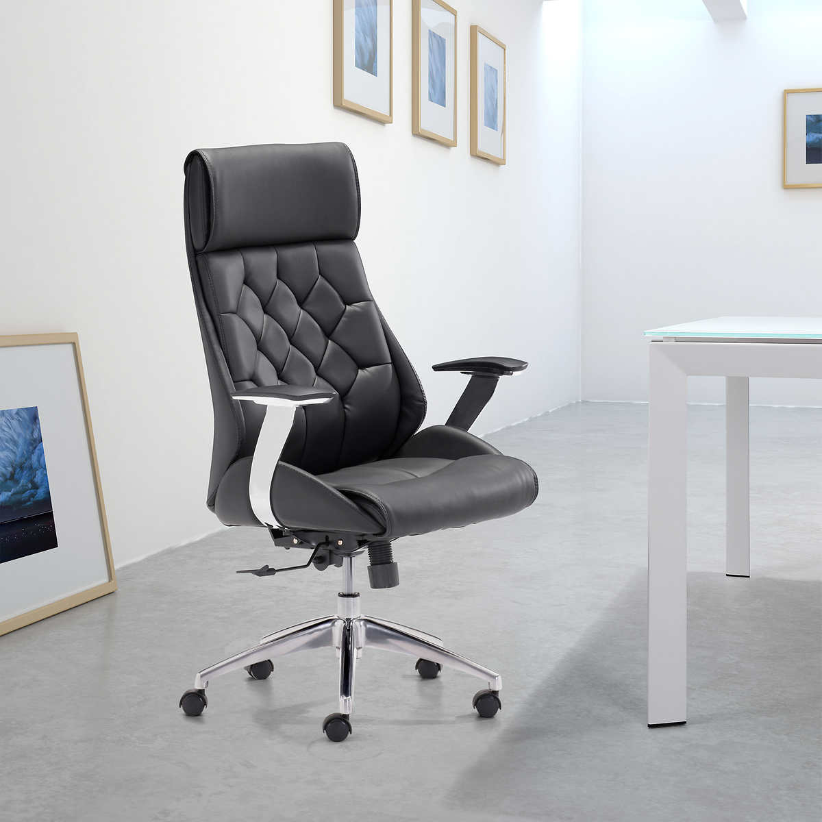 CEO High Back fice Chair Black