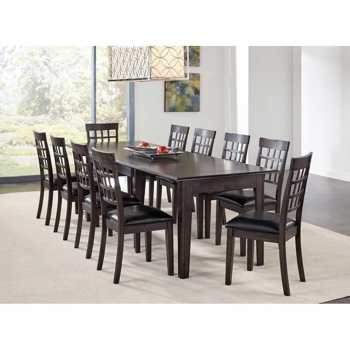 dining kitchen furniture costco bainbridge ii 11 piece dining set