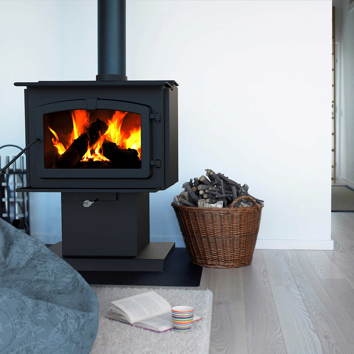 ht2000 extra large epa certified wood stove