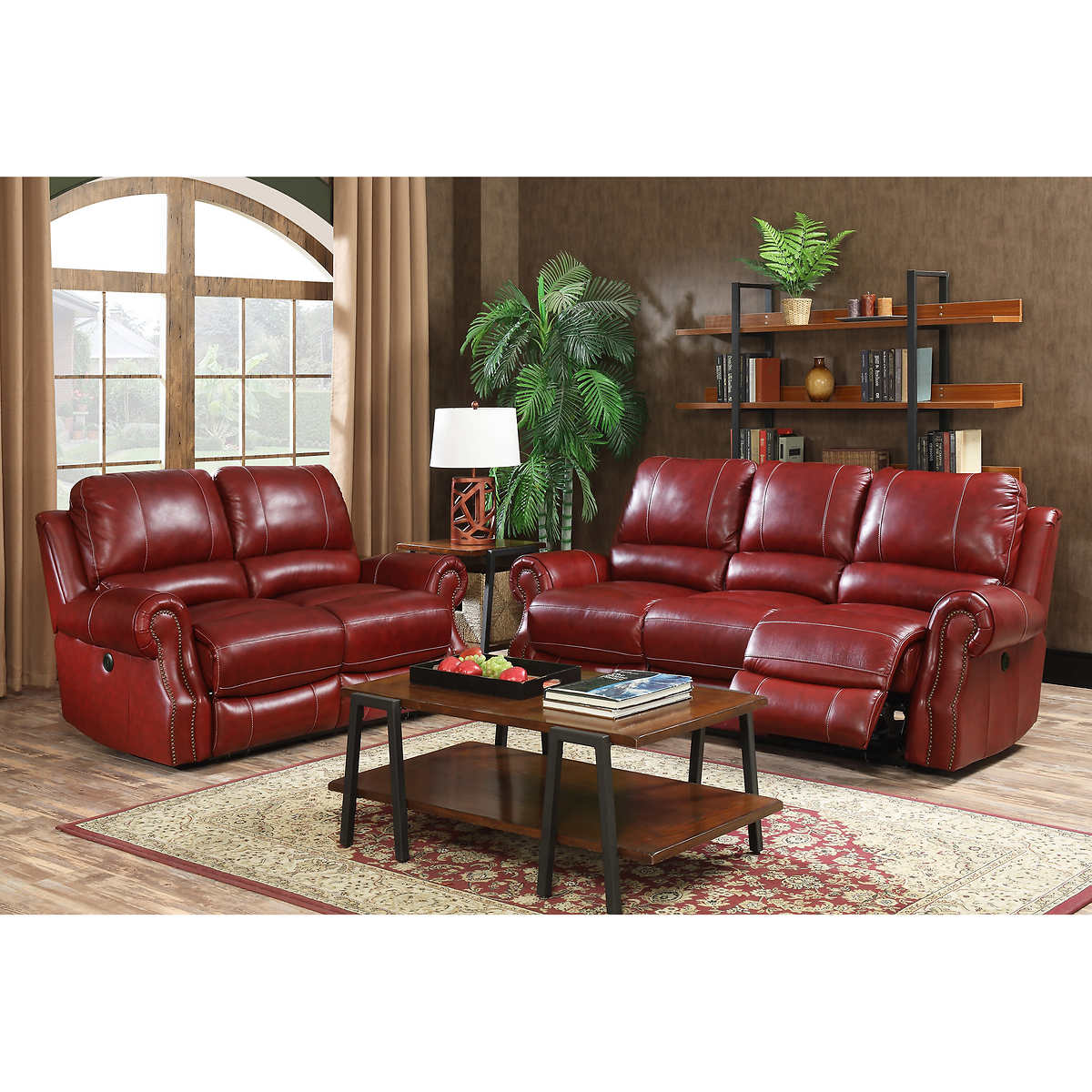 Leather Power Recliner Sofa Canada