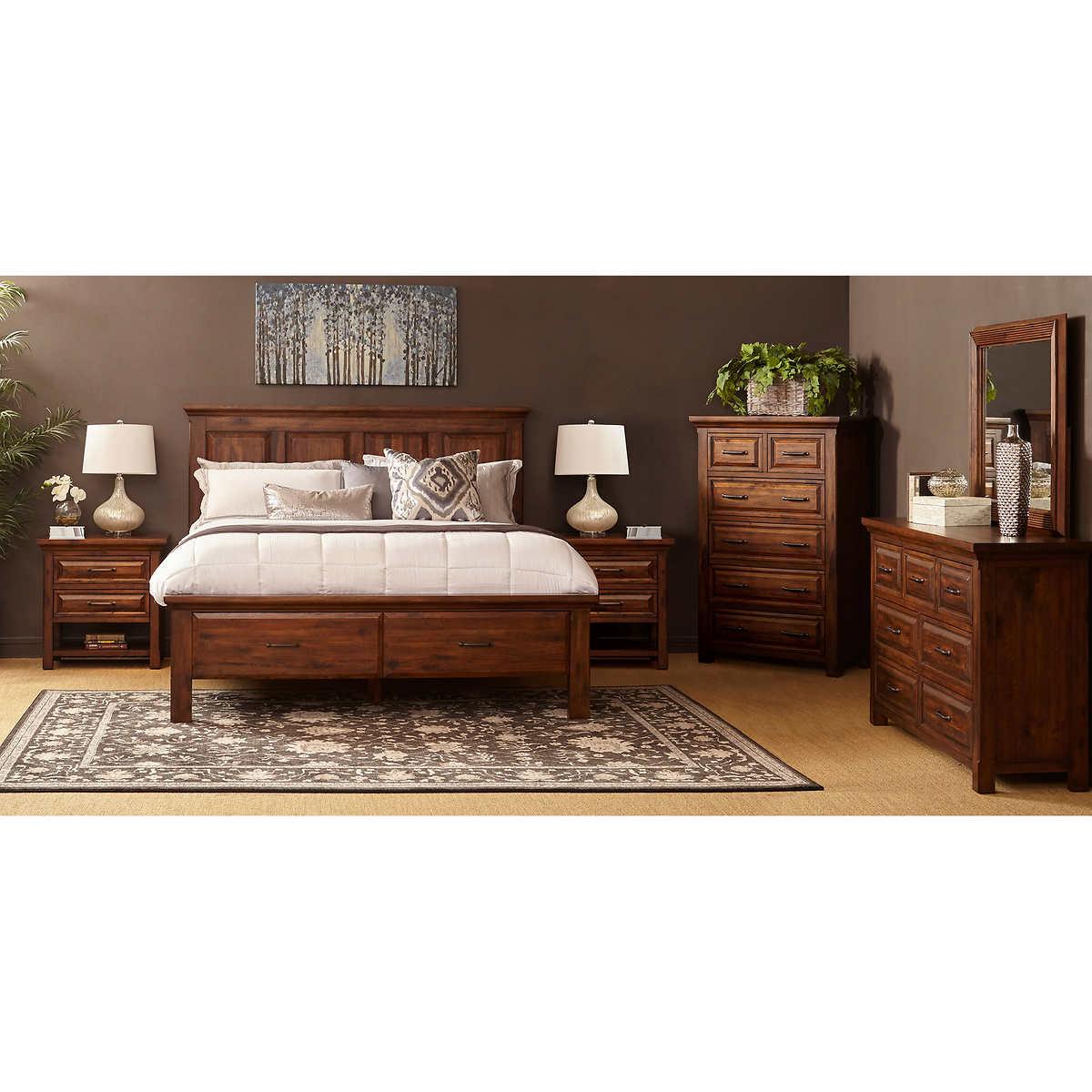 westlake 6-piece queen storage bedroom set