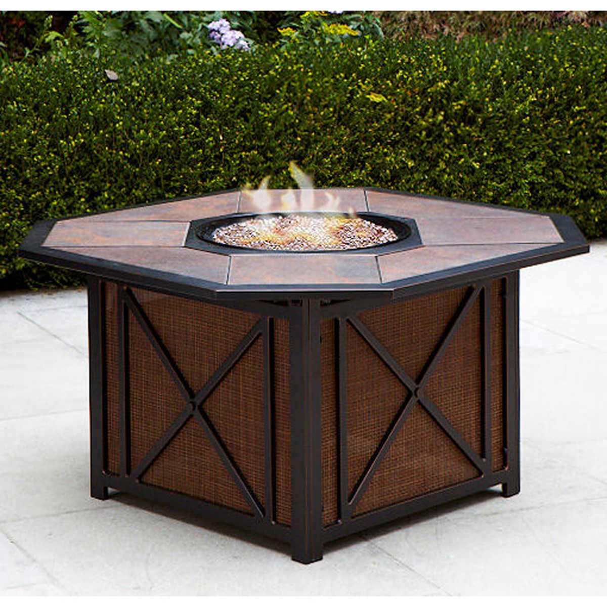 Gold Coast Propane Fire-Pit Table - Fire Pit