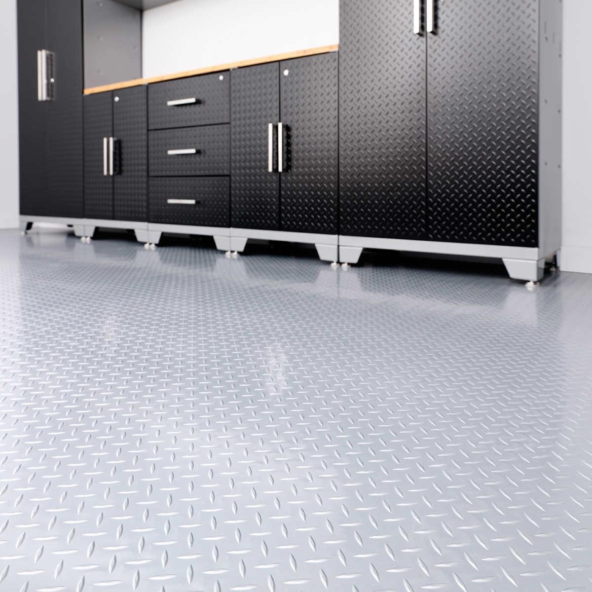 Pvc garage floor tiles gurus floor for Garage floor