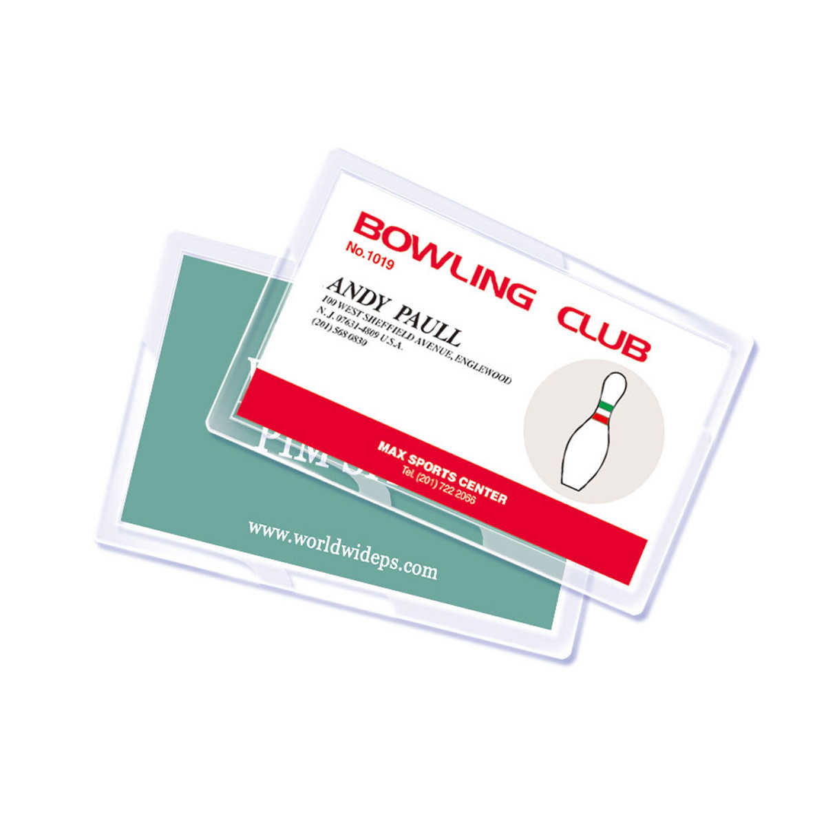 Royal Sovereign Business Card Laminating Pouches, 400-pack