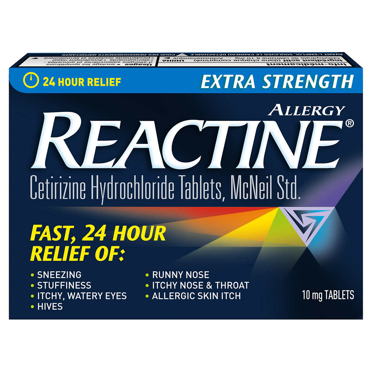 REACTINE® Extra Strength - 144 Tablets