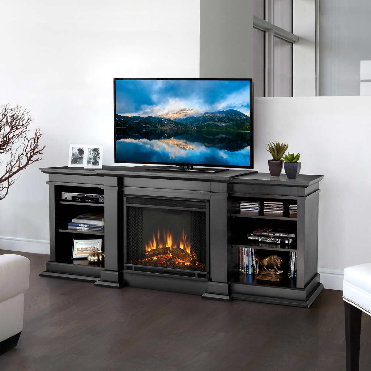 Fresno Electric Fireplaces Costco - Costco electric fireplace