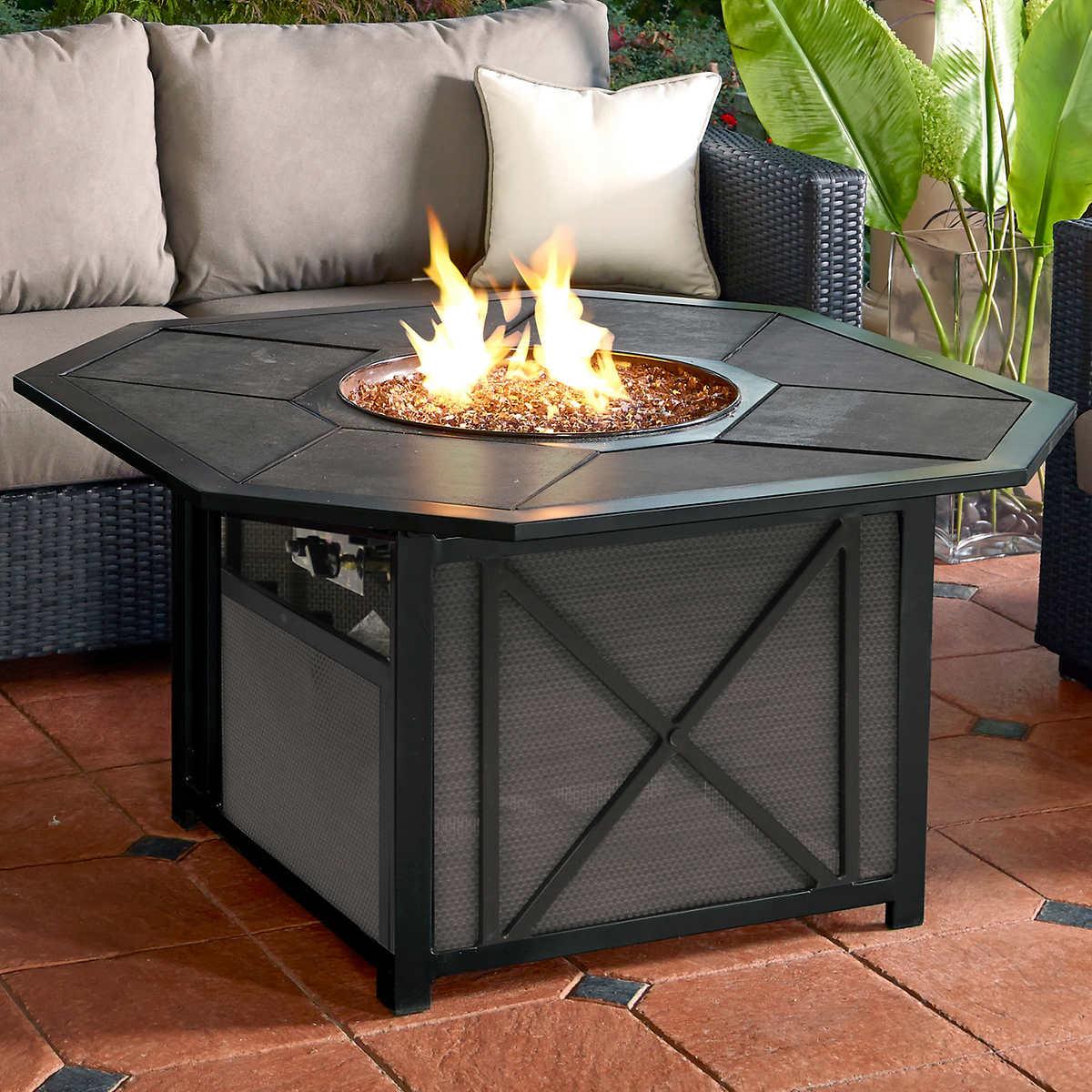 fire pit  costco - lagunamonaco fire pit table