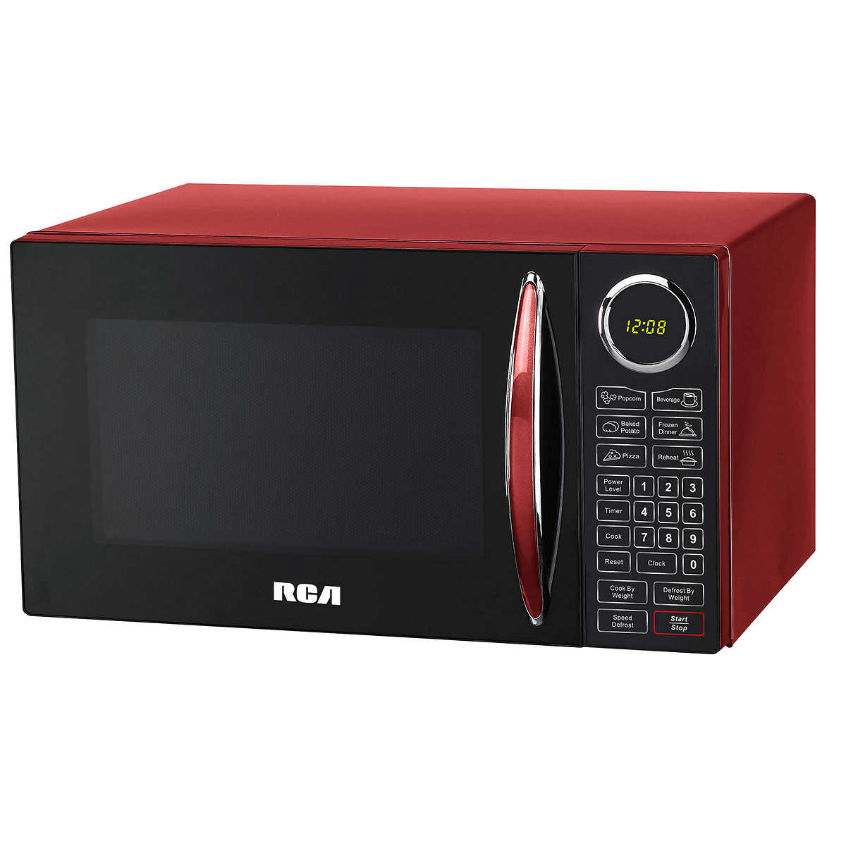 Red Microwave 1