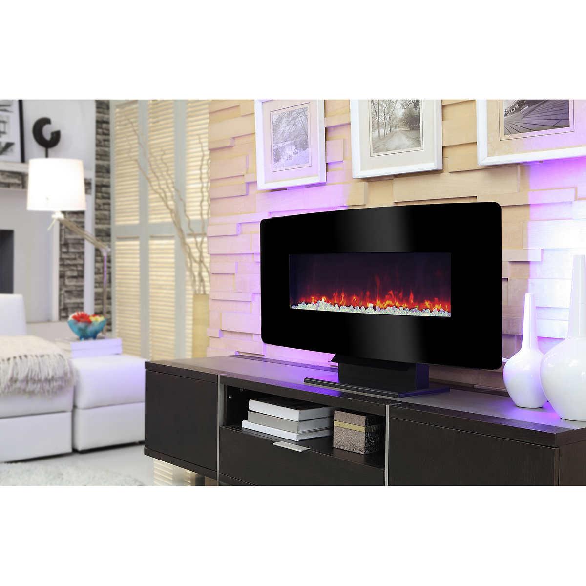 Muskoka Electric Fireplaces Costco - Costco electric fireplace