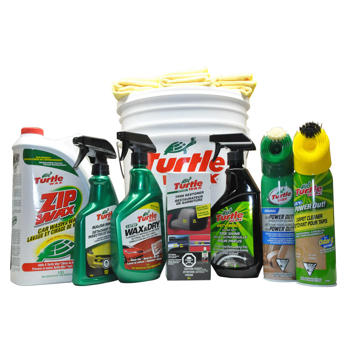 Turtle wax total car cleaning kit