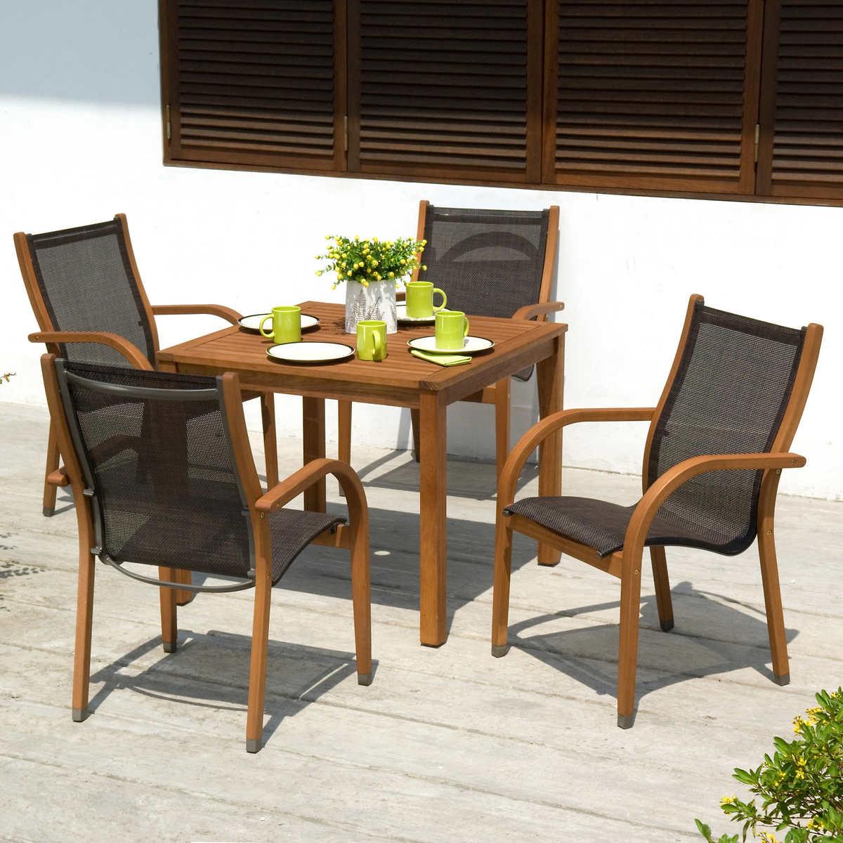 Bramley 5 Piece Eucalyptus Dining Set