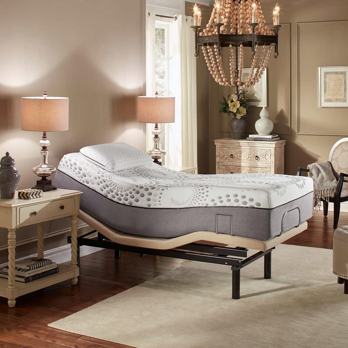 Sleep Science™ Ara Twin XL Mattress with Adjustable Base