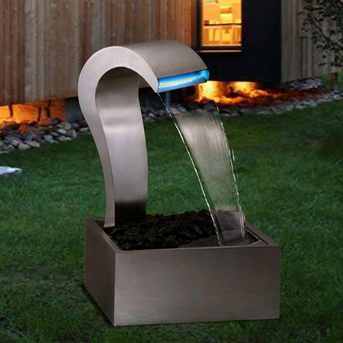 Water fountains calgary - Mimosa Duckbilled Water Fall 80 Cm 31 5 In