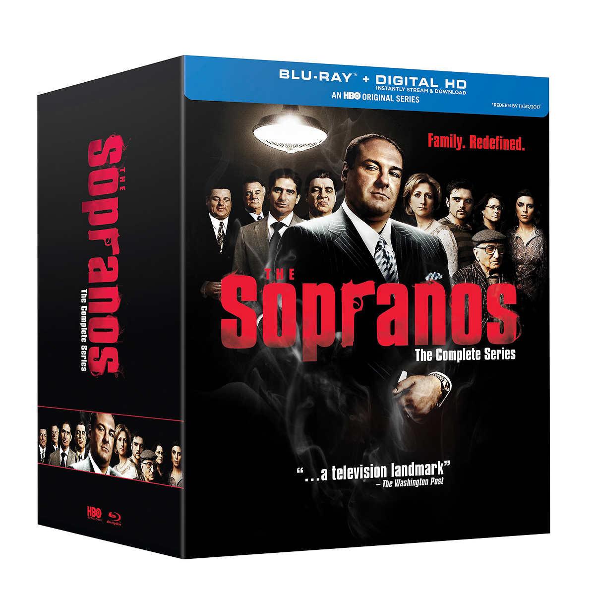 Sopranos the complete series blu ray set