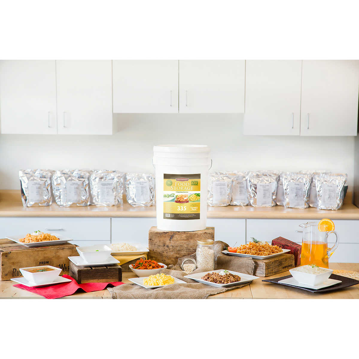 Chef's Banquet Emergency Food Storage - ARK (All-purpose Readiness Kits)