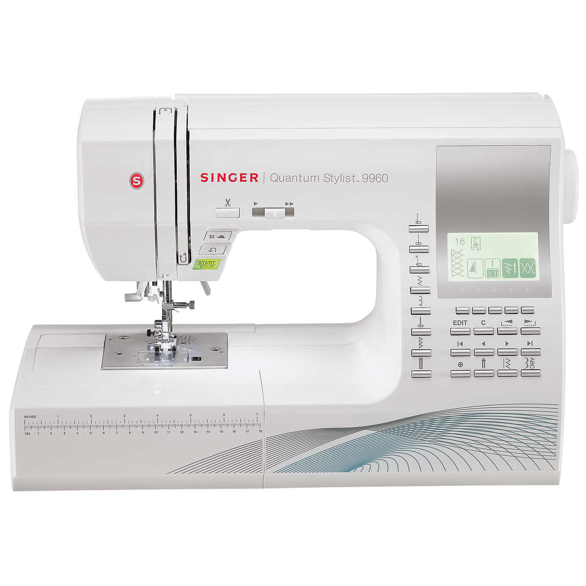 Singer 9960 Quantum Stylist Computerized Sewing Machine Printable Threading Guide Easy Crafts 1 Click To Zoom