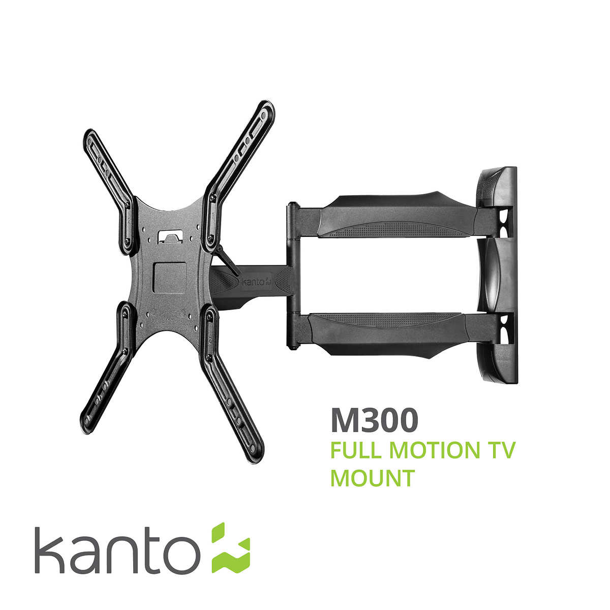 Kanto M300 Full Motion Mount for 26-in  to 55-in  Flat Panel TVs