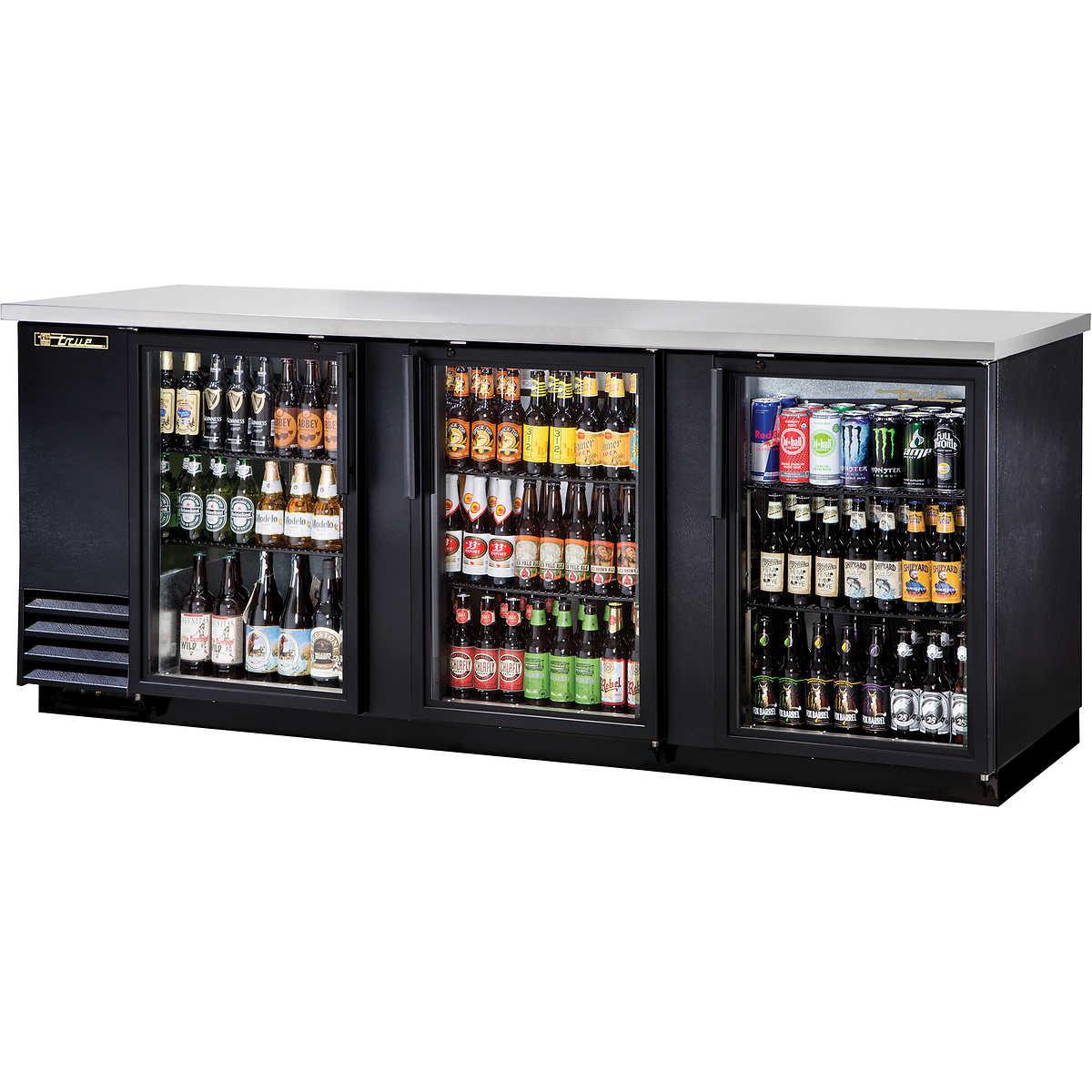 Undercounter Beverage Refrigerator Glass Door Commercial Refrigerators Costco