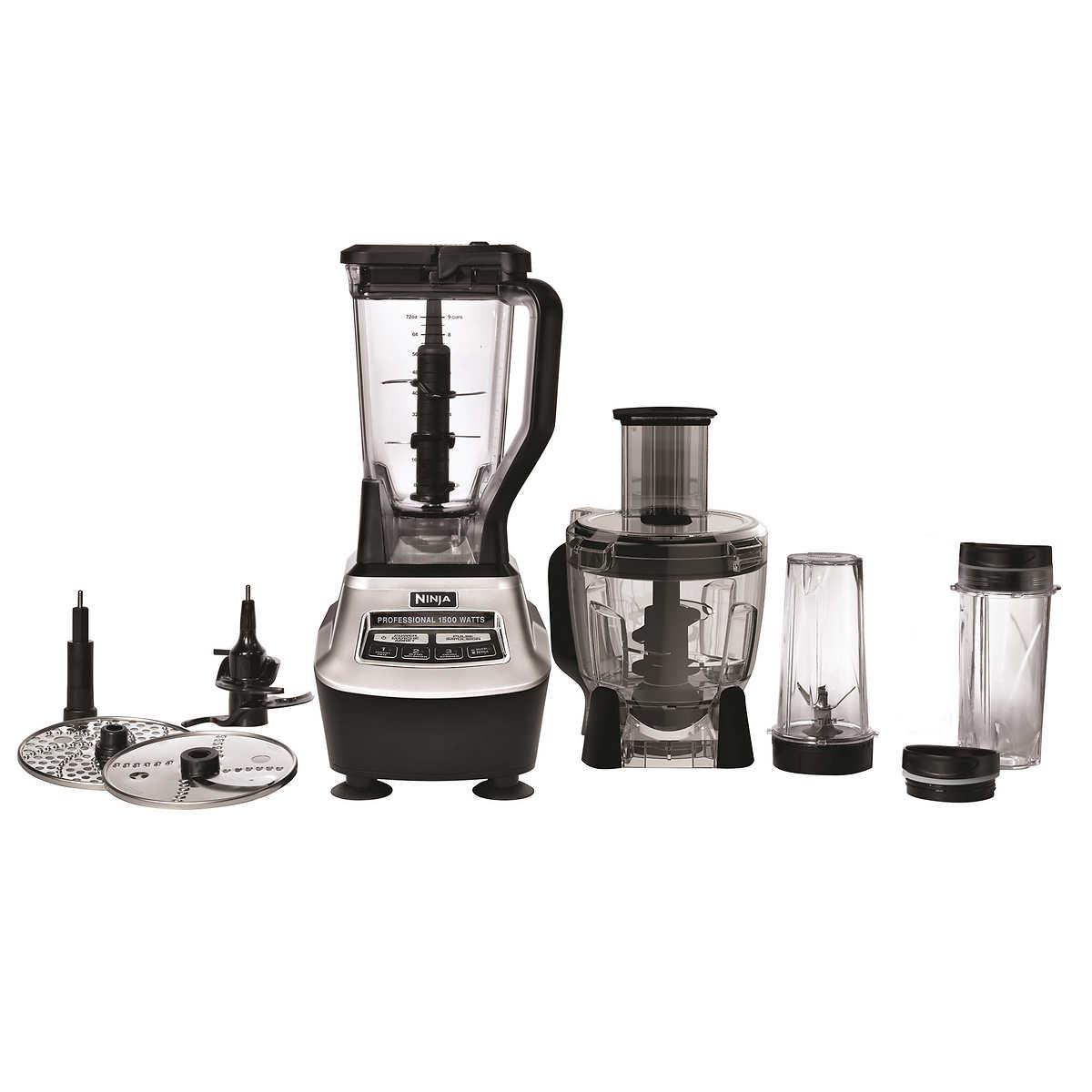 Ninja mega kitchen system 1500w 2hp food processor blender bl773co - Ninja Mega Kitchen System Item 983930 Click To Zoom