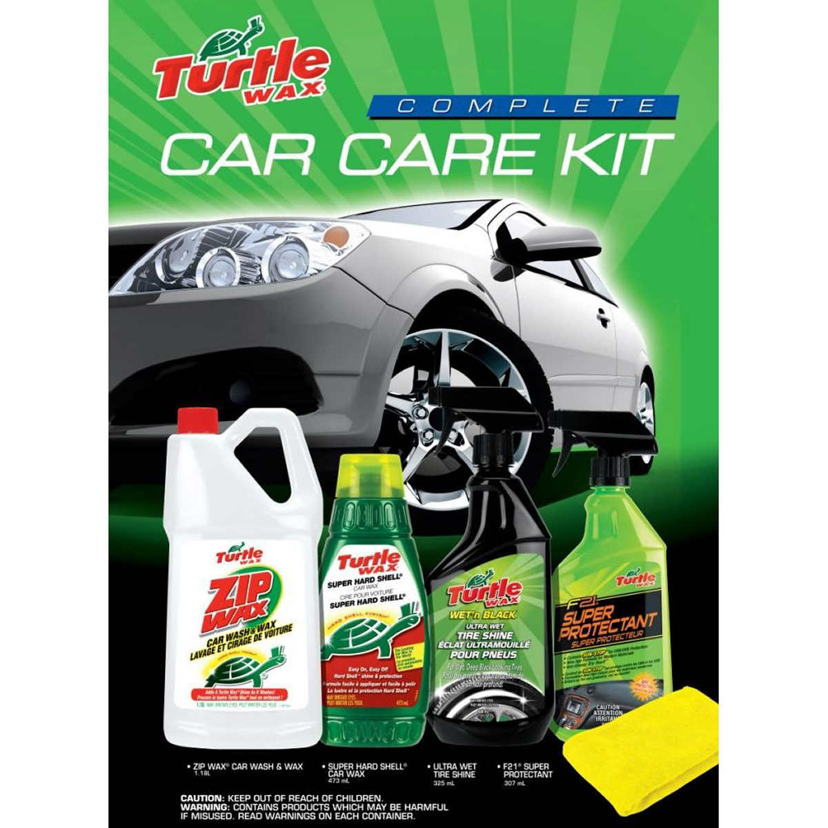 Turtle wax complete car kit