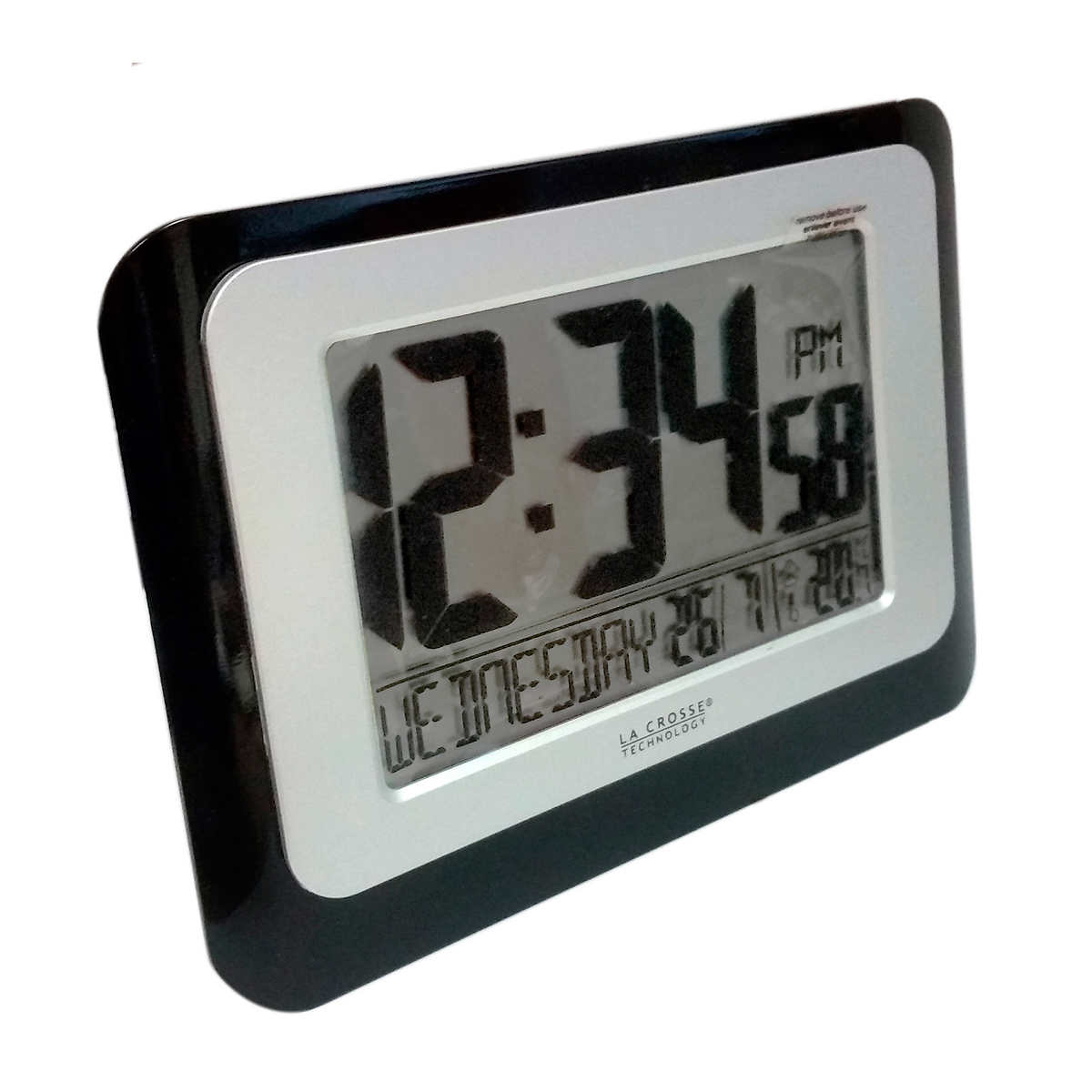 Marathon atomic travel and desktop alarm clock with auto ambient member only item amipublicfo Image collections