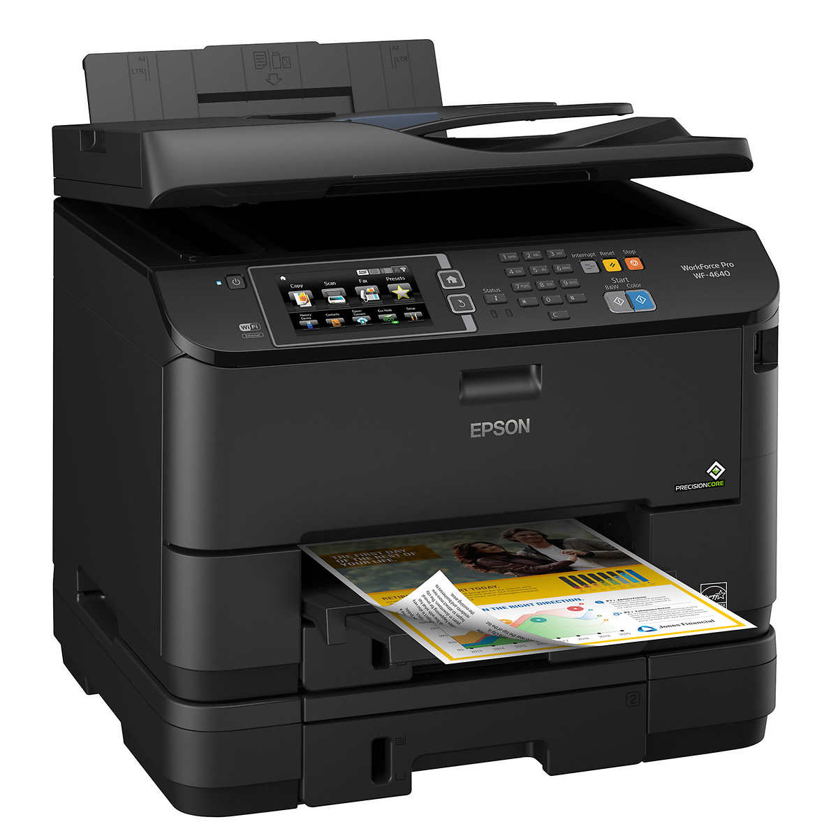 Color printing downtown vancouver - Epson Workforce Pro Wf R4640 Ecotank All In One Printer