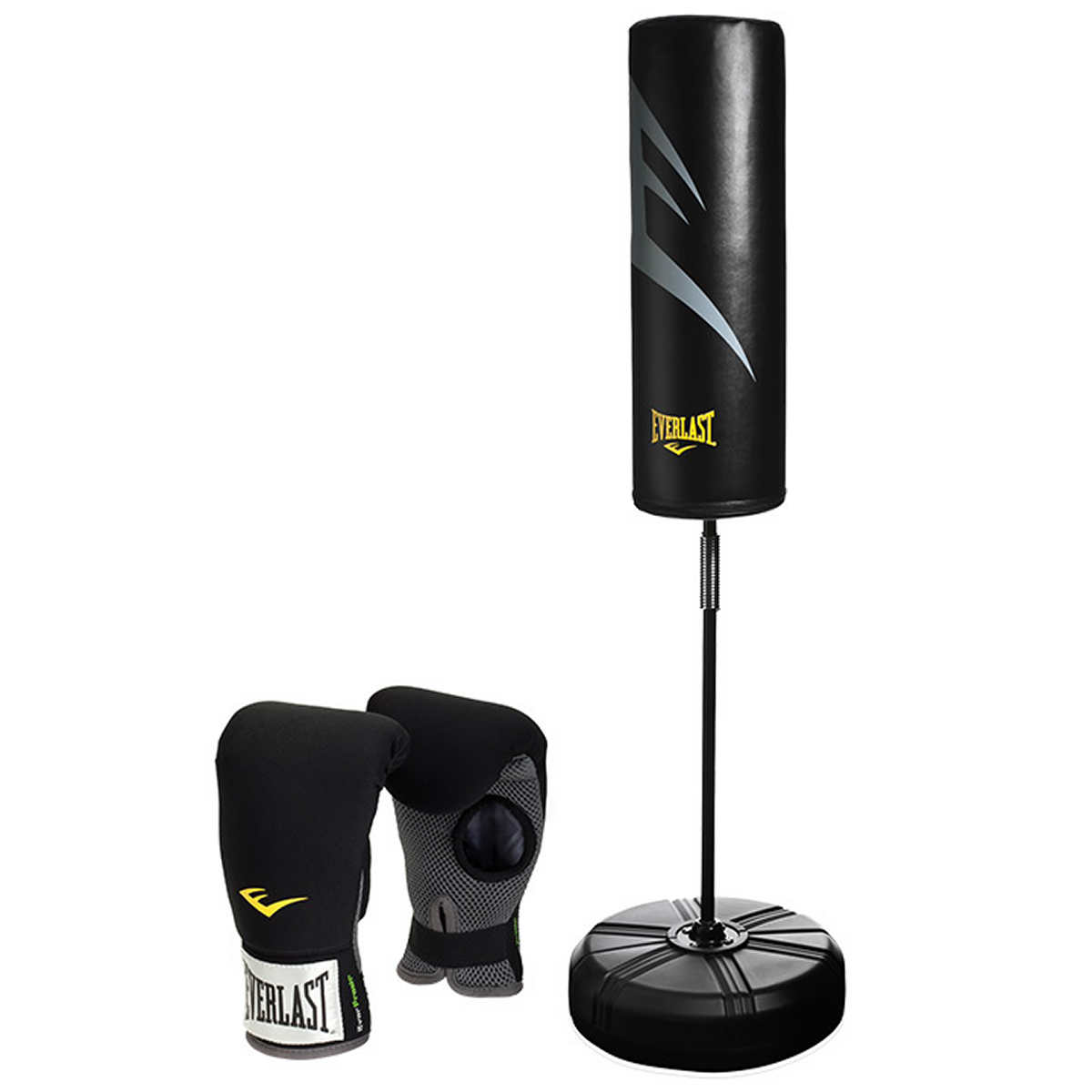 80843390540d Everlast Kit  Cardio Fitness Training Bag and Neoprene Gloves