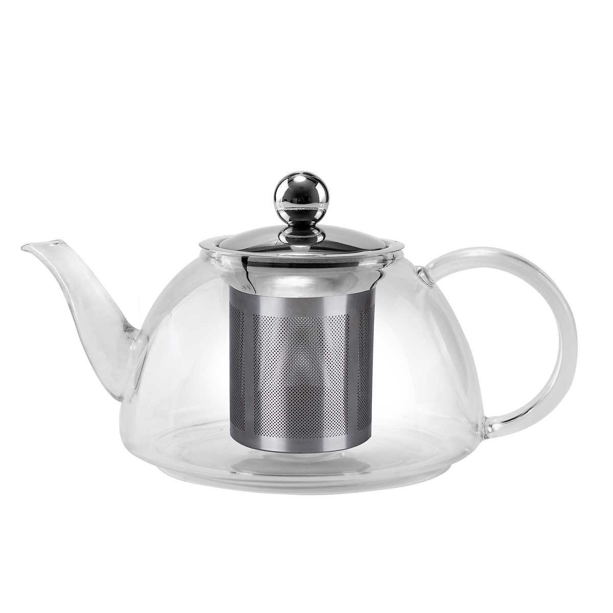 stove top safe pyrex glass teapot - click to zoom