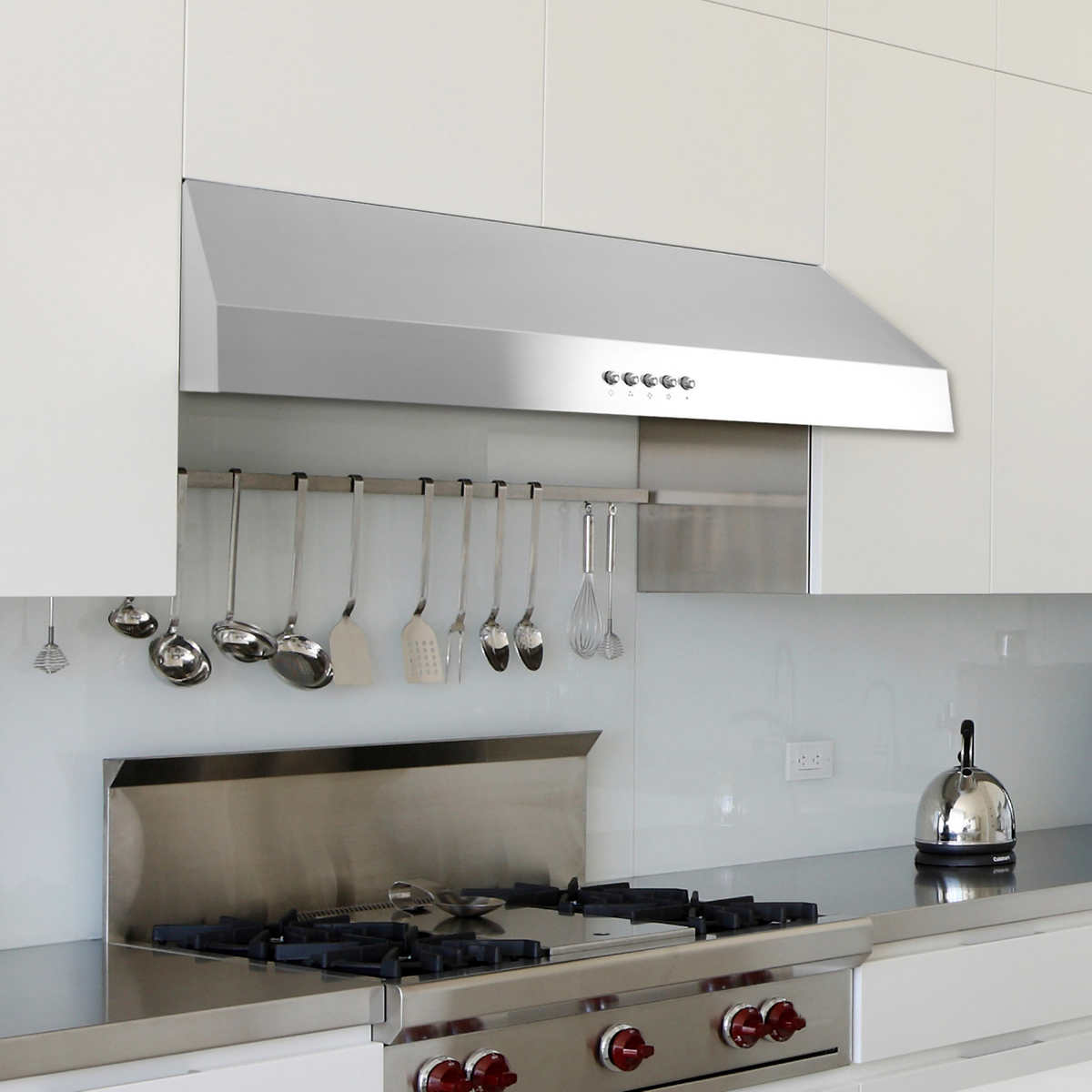 Under cabinet range hoods for gas stoves home fatare - Kitchen hood under cabinet ...