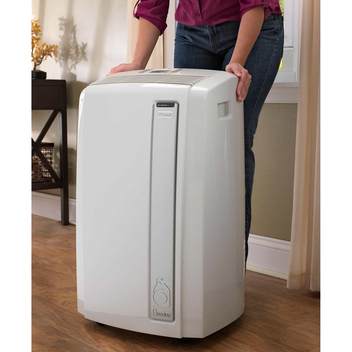 Air conditioner portable delonghi small ac unit delonghi for Small room portable air conditioners