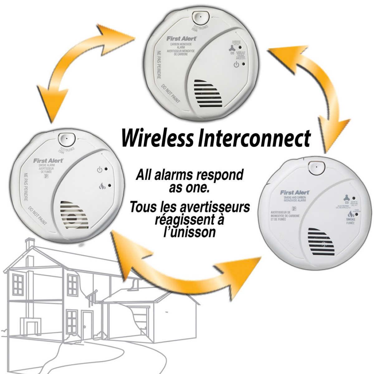Smoke Detector Wiring Diagram Installation Alarm Alarms