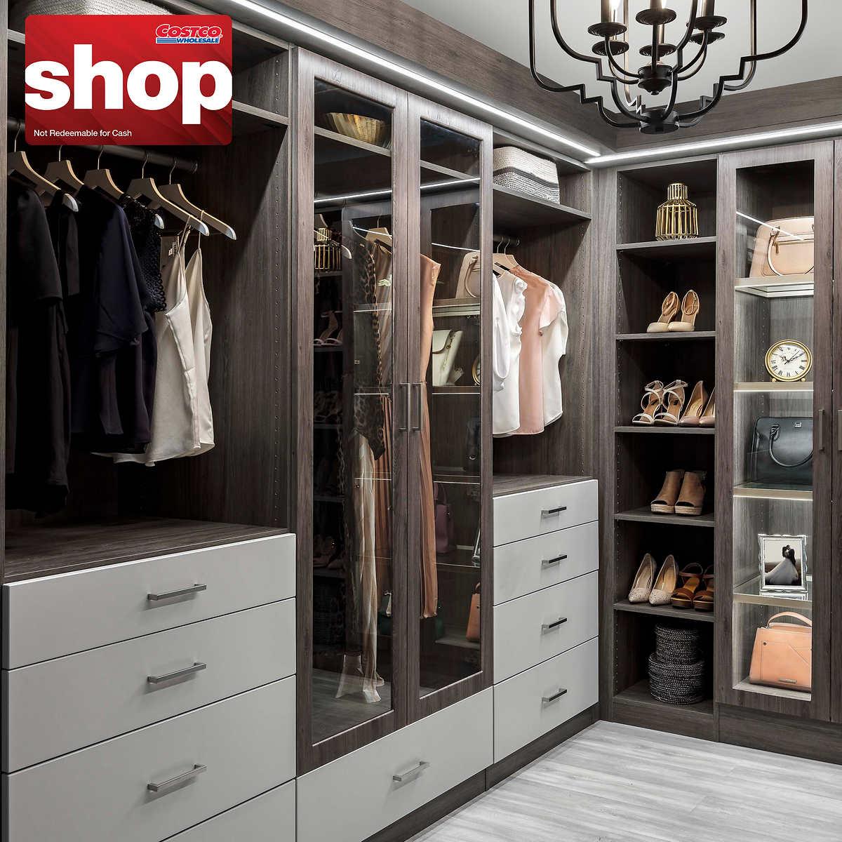 Rubbermaid Closet Shoe Storage