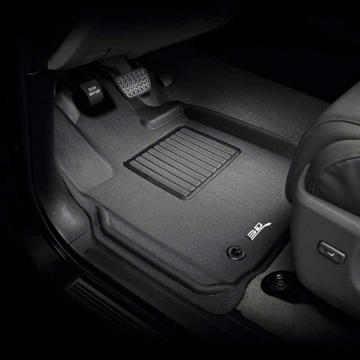 Weather Car Mats >> 3d Maxpider Mat Custom Fit All Weather Car Mats